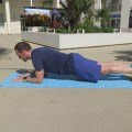 La planche ou gainage au sol
